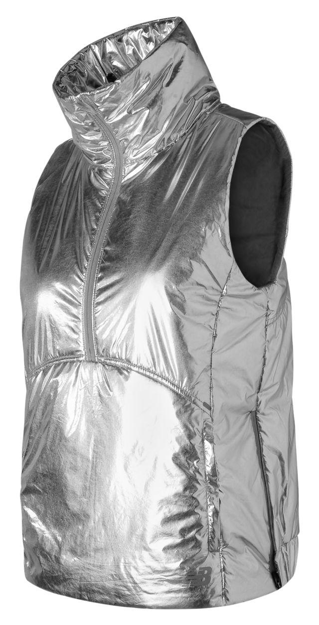 Women's Shine NB Radiant Heat Half Zip Vest