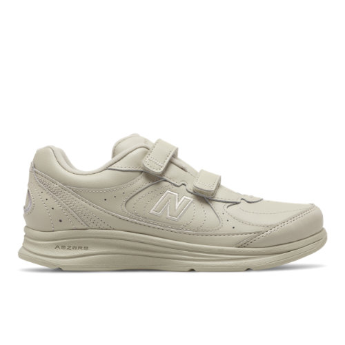 Hook and Loop 577 Women's Walking Shoes - Off White (WW577VB)
