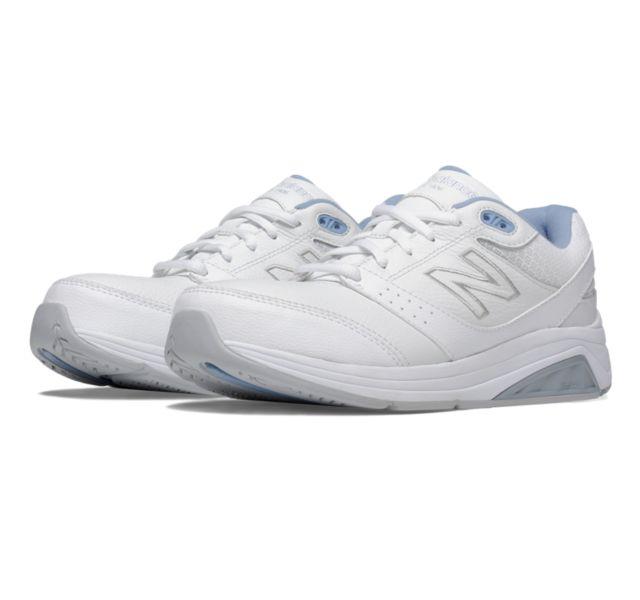 New Balance Womens WW928WB2 White/Blue Walking Shoes Size 6 New