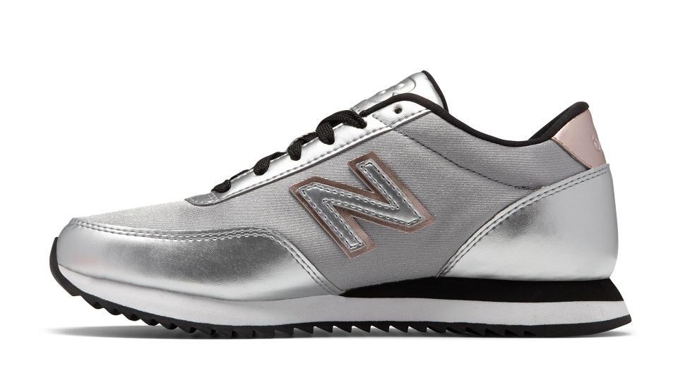zapatillas new balance mujer plateadas