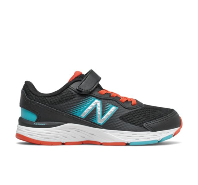 New Balance Kids 680 V6 Alternative Closure Running Shoe