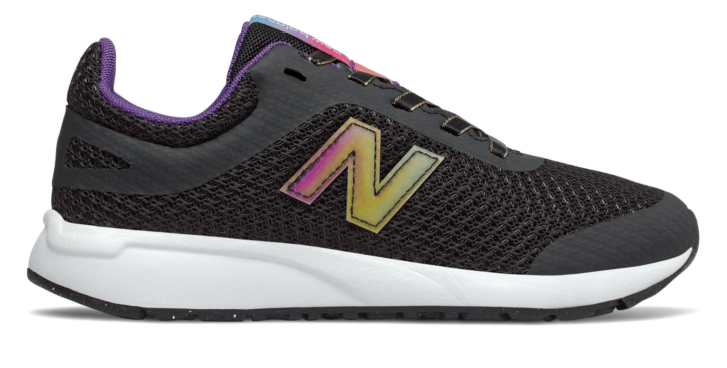 New Balance Kid/'s 455V2 Big Kids Female Shoes Purple With Purple