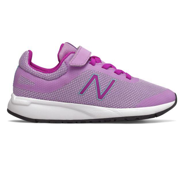 New Balance Kids 455v2 Hook and Loop Running Shoe