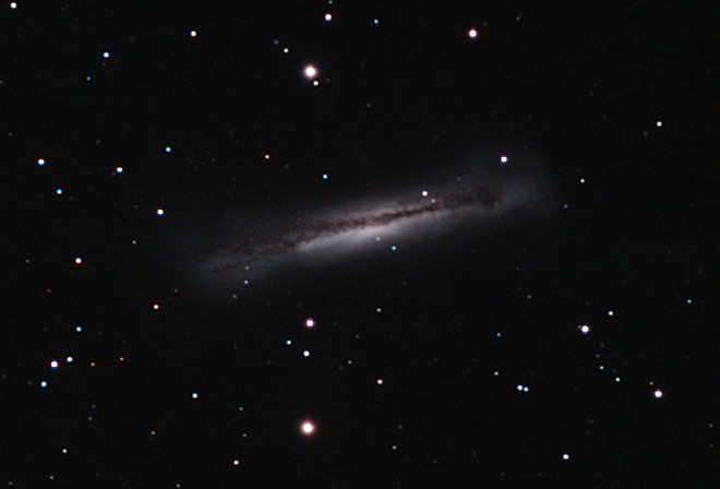 NGC 3628 Hamburger Galaxy