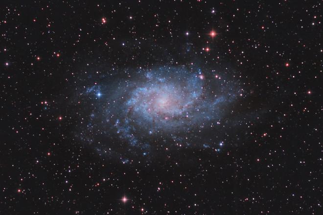 M33 The Triangulum Galaxy (The Pinwheel Galaxy)