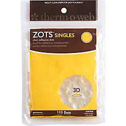 Zots 3D Singles - Pack of 125