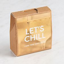 Let's Chill Bottleneck Gift Tag