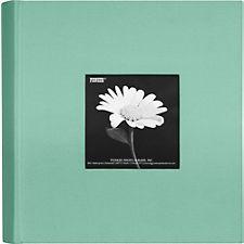 2-Up Tranquil Aqua Fabric Photo Album