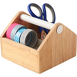 White Handle Storage Box