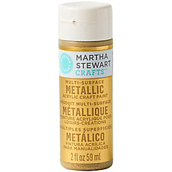 Gold Metallic Acrylic Craft Paint