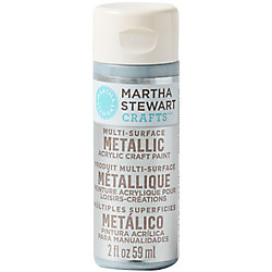 Pure Platinum Metallic Acrylic Craft Paint
