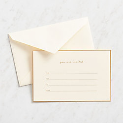 You're Invited Fill-In Invitations