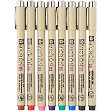 Micron Color Pen Set