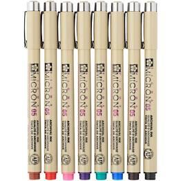 Micron Color Pen Set