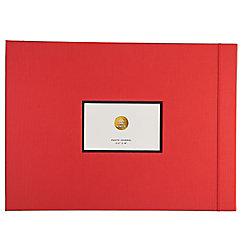 Kinsho Large Red Photo Journal