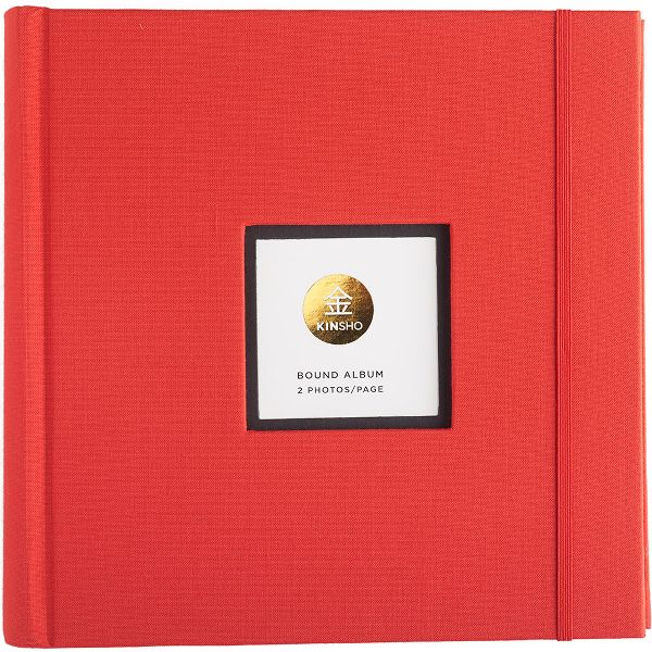 Kinsho Red Photo Album
