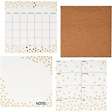Gold Confetti Organizational Set