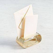 Clipnote Gold Organizer