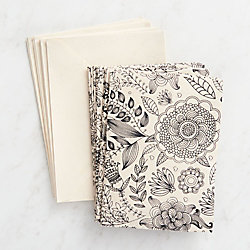 Color Me Floral Stationery