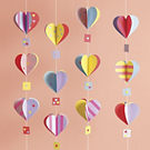 Heart Air Balloon Craft Kit