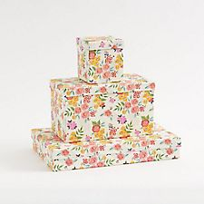 Cottage Rose Gift Boxes