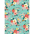 Garden Tea Party Floral Wrapping Paper