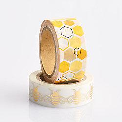 Bee and Honeycomb Washi Tape Set