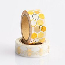 Bee and Honeycomb Washi Tape Set