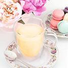 Avery Double Walled Glass Tea Mug by Pinky Up