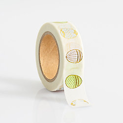 Gold Foil Egg Washi Tape