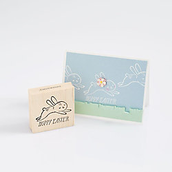Hoppy Easter Bunny Stamp