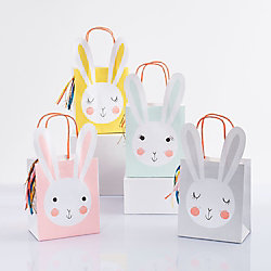 Bunny Party Bags with Tassel