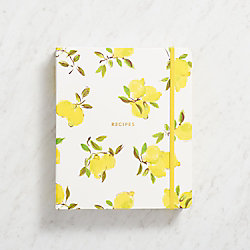 kate spade new york Lemon Recipe Book