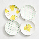 kate spade new york Lemons and Dots Tidbit Plates