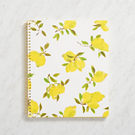 kate spade new york Lemon Large Spiral Notebook