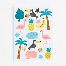 Tropical Stickers Pack