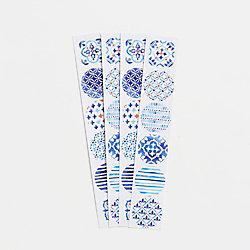 Blue Tile Stickers