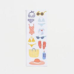 Beach Bikini Stickers