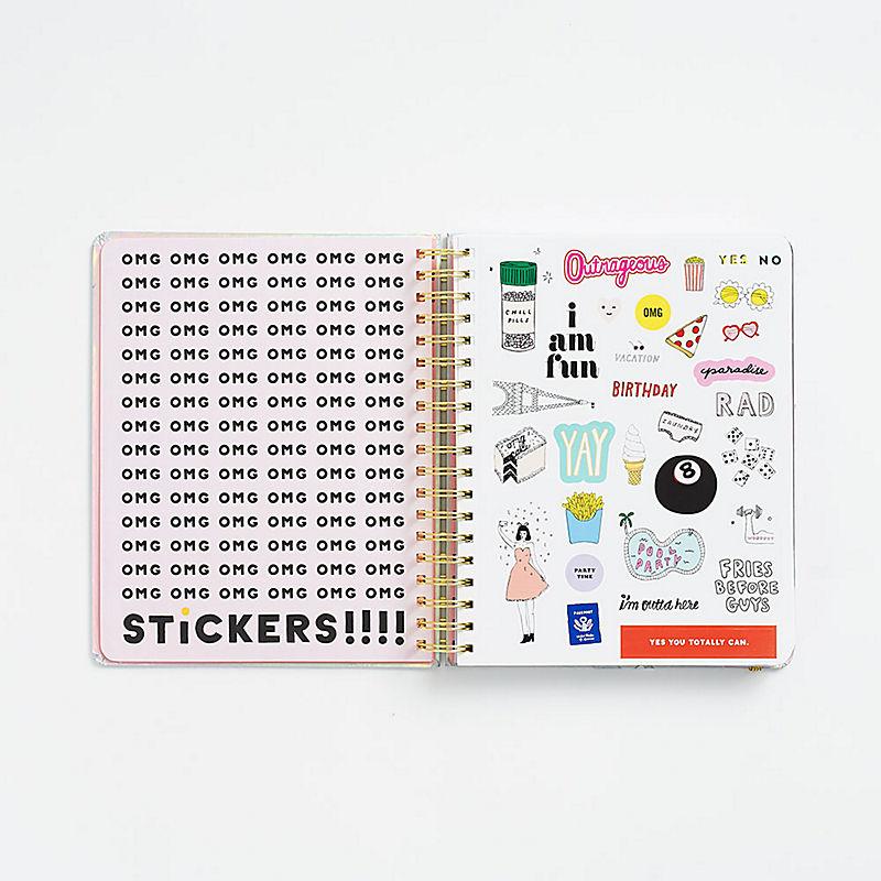 planner sticker page