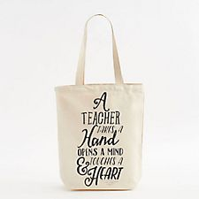 Touch A Heart Teacher Tote