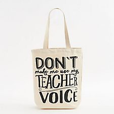 Teacher Voice Tote