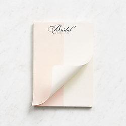 Bridal Notepad