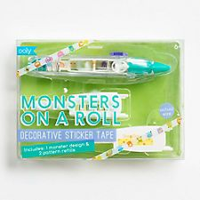 Monsters on a Roll Decorative Sticker Tape