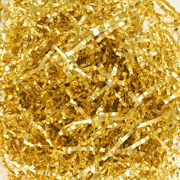 Gold Metallic Shred
