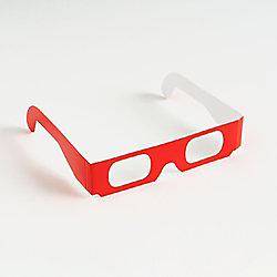 Red Firework Viewing Glasses