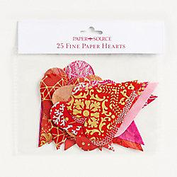 Die-Cut Fine Paper Hearts