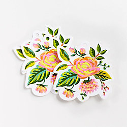 Jardin de Paris Die Cut Gift Tags