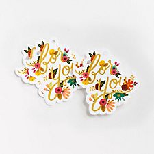 For You Floral Die Cut Gift Tags