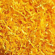 Canary Yellow Shredded Paper