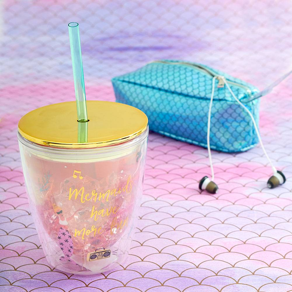 Party Mermaids Acrylic Cup
